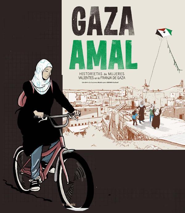 Gaza Amal. Historietas de mujeres valients en la Franja de Gaza